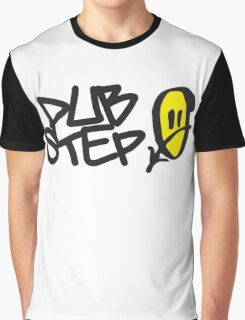 Dubstep Smile Music Quote Graphic T-Shirt