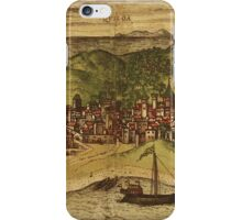 Kilwa Vintage map.Geography Tanzania ,city view,building,political,Lithography,historical fashion,geo design,Cartography,Country,Science,history,urban iPhone Case/Skin