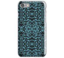 Tribal Pattern ( Blue ) iPhone Case/Skin