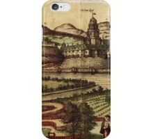 Kassel Vintage map.Geography Germany ,city view,building,political,Lithography,historical fashion,geo design,Cartography,Country,Science,history,urban iPhone Case/Skin