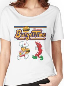 Burgertime Arcade Game  Women's Relaxed Fit T-Shirt