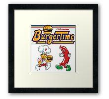Burgertime Arcade Game  Framed Print