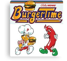 Burgertime Arcade Game  Canvas Print
