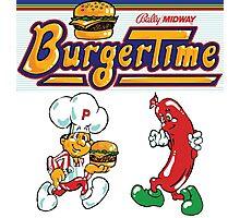 Burgertime Arcade Game  Photographic Print