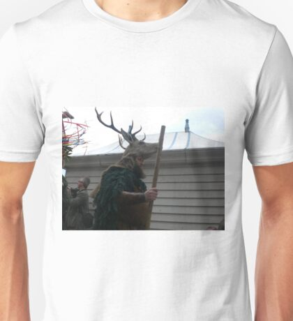 the stag man of hastings Unisex T-Shirt
