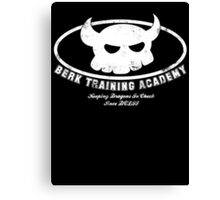 Berk Training Academy Canvas Print