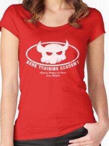 Berk Training Academy Women's Fitted Scoop T-Shirt