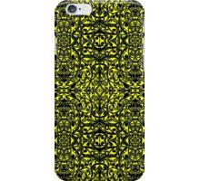 Tribal Pattern ( Yellow ) iPhone Case/Skin