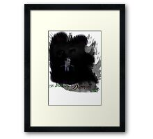It's Where My Demons Hide (MKII) Framed Print