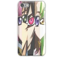 Code Geass: Eyes iPhone Case/Skin