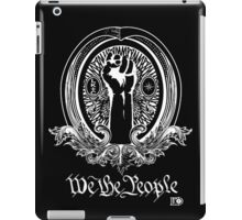 We The People (white print) iPad Case/Skin
