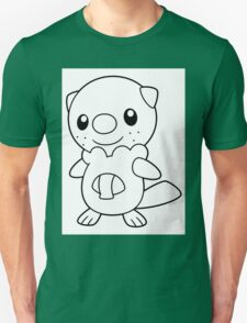 Black and White Oshawott T-Shirt