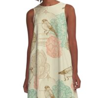 A bird in a cage A-Line Dress