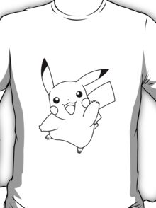 Black and White Pikachu 1 T-Shirt