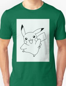 Black and White Pikachu 1 T-Shirt