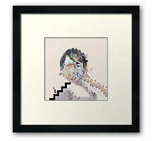 Painting With (Panda Bear) Framed Print