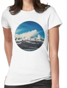 Alaska Mountain Womens Fitted T-Shirt