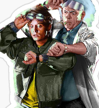 Doc and Mharti Sticker