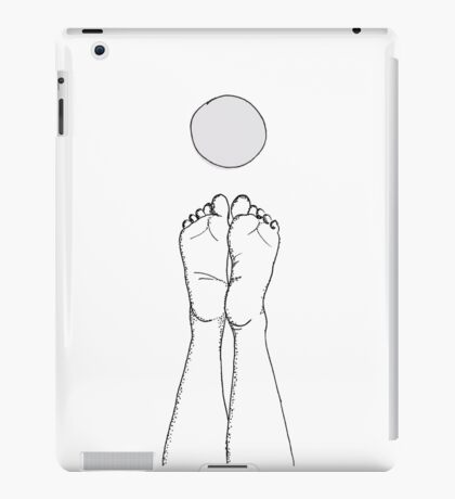 Touch the Moon iPad Case/Skin