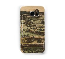 Ingolstadt Vintage map.Geography Germany ,city view,building,political,Lithography,historical fashion,geo design,Cartography,Country,Science,history,urban Samsung Galaxy Case/Skin