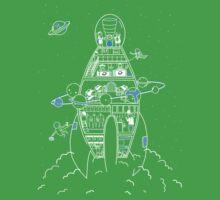 Interstellar Travels Baby Tee