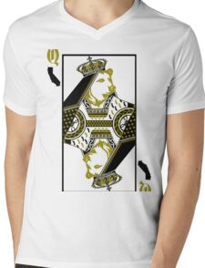 Queen Of Cali Mens V-Neck T-Shirt