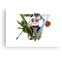 Space Music Instruments Canvas Print
