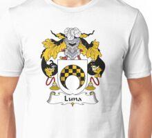 Luna Coat of Arms/Family Crest Unisex T-Shirt