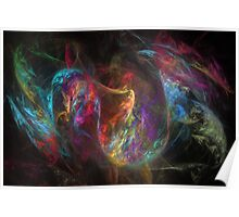 Fractal Painting Poster