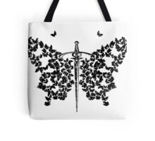 BUTTERFLY DAGGER Tote Bag