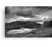 Lochan, Isle of Harris Canvas Print