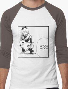 Kyouko Being cute Yuru Yuri  Men's Baseball ¾ T-Shirt