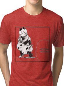 Kyouko Being cute Yuru Yuri  Tri-blend T-Shirt