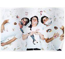 Animal Collective Lying Down Poster