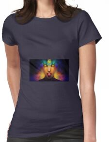 Psychedelic Trippy T-Shirt Womens Fitted T-Shirt