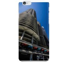Looking up at Marina Towers iPhone Case/Skin