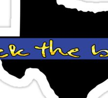 Back the blue Texas Sticker
