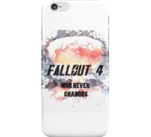 fallout 4 iPhone Case/Skin