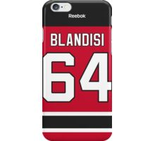 New Jersey Devils Joseph Blandisi Jersey Back Phone Case iPhone Case/Skin