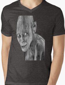lord of the rings-smygl-golum Mens V-Neck T-Shirt