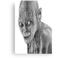 lord of the rings-smygl-golum Metal Print