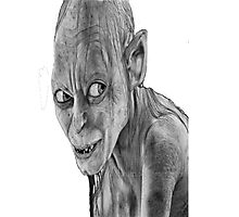 lord of the rings-smygl-golum Photographic Print