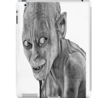 lord of the rings-smygl-golum iPad Case/Skin