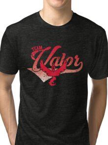 Pokemon Go - Team Valor Distressed Athletic Logo Tri-blend T-Shirt