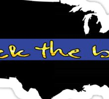Back the Blue United States Sticker