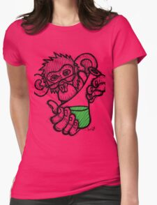 Lab Monkey Womens Fitted T-Shirt