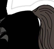 My Little Dark Knight - Justice Is Magic  Sticker