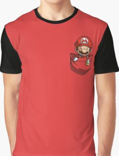 Pocket Mario  Graphic T-Shirt