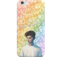 Troye Sivan Blue Neighbourhood Rainbow iPhone Case/Skin