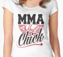 MMA Chick Women's Fitted Scoop T-Shirt